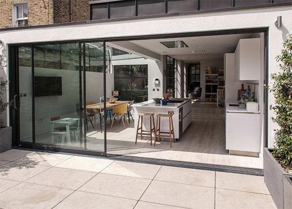 厨房玻璃拉门选择需要注意的事项